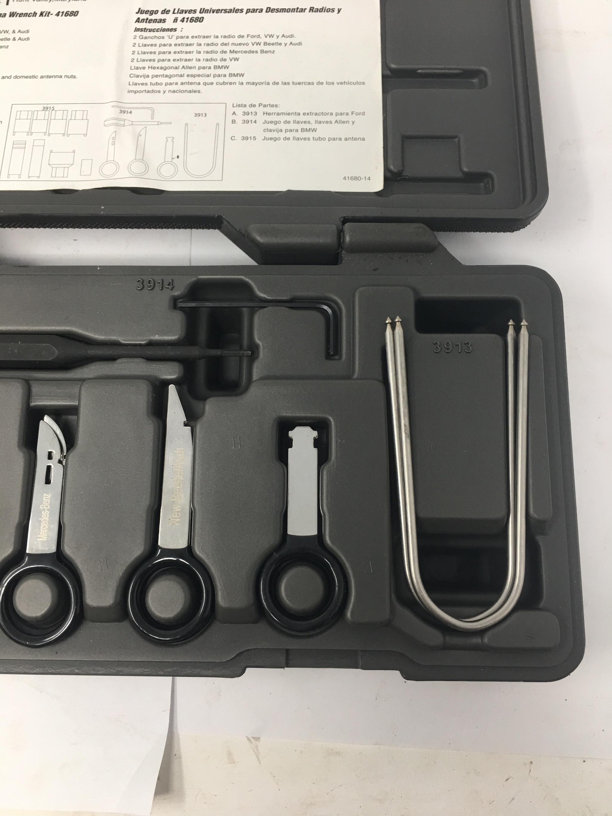Radio Removal Kit /& Antenna Wrench Kit 41680