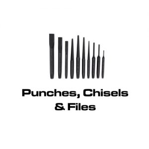 Punches, Chisels & Files